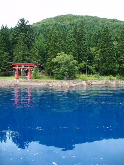日本一深い瑠璃色の湖 ~田沢湖~