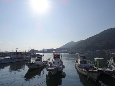 ポニョの舞台になった広島県鞆の浦と大久野島でウサギ体験