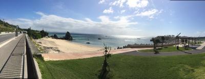 2歳児連れて初の家族旅行は、やっぱり沖縄本島にしましたが…。台風18号と19号の狭間で何とか行って来ました ②
