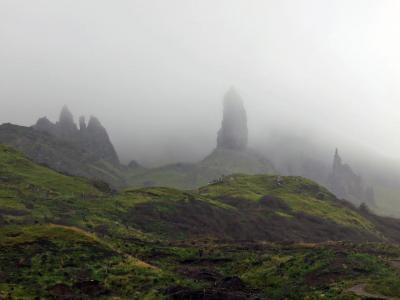 2014スコットランド 風と偉人を探しに スカイ島 day2 Old Man of Storr/Dunvegan Castle