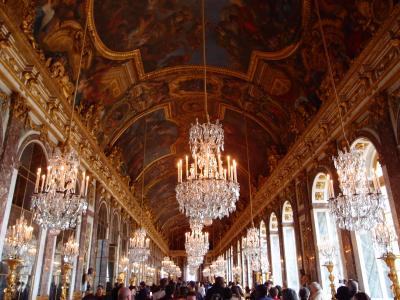 転職記念に思い切ってパリ旅行 (2日目-ベルサイユとセーヌ川観光)