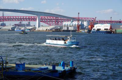 なにわの街をポタリング ~渡船を使って湾岸移動~