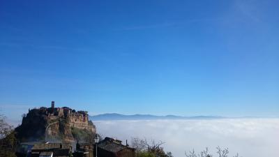 ローマーフィレンツェとその界隈を巡る旅 04:雲海に浮かぶチヴィタ・ディ・バニョレージョ