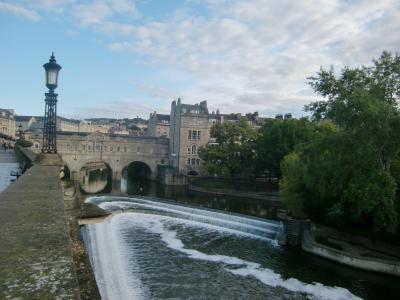 2014夏 イギリス 18:バース シーフードと世界遺産の市街散歩