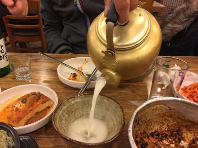 2014.12  食と美なソウルの旅5日間[3日目]押鷗亭洞散策とよもぎ蒸し