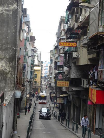 マカオマラソンと香港の旅 3日目午後(マカオ)