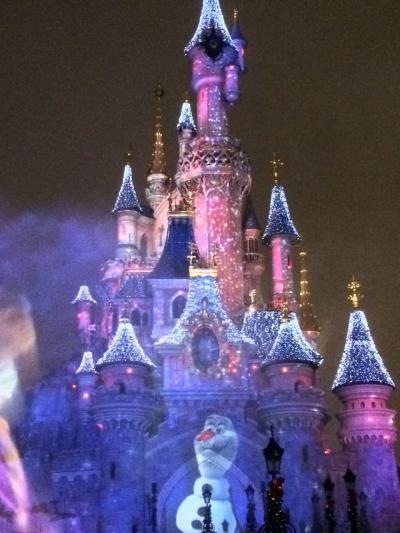 アナ雪なディズニーランドパリとパリ市内を楽しむ旅②