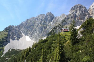 2014年 チロル 皇帝山脈紀行 絶景の5つ星ホテルで過ごす1週間 【10】憧れのWilder Kaiserへハイキング 後編(登山道から見た絶景)