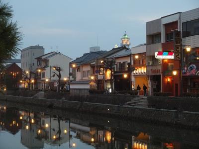 特急やくもで行く 松江No.2<塩見縄手お散歩 宍道湖を眺めながら素敵な夜を過ごしましょう>