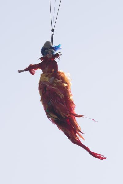 2015年ヴェネチアカーニバルの2日目 ~天使の飛翔を見ました~