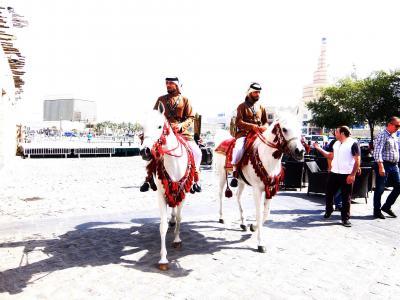 ドーハでカタール航空無料 City Tour