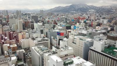 40年ぶりの札幌は歩道が広くて電柱もなく、景観が美しい都会だった!!