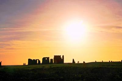 巨人の積み木 / 古代遺跡ストーンヘンジには不思議がいっぱい♪【家族と歩く真冬の英国(ソールズベーリ)-7】