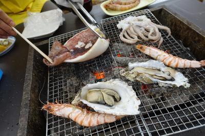 2015福岡・糸島へ牡蠣食べに行った