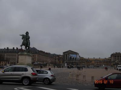ビーチリゾート派なのに真冬のパリ!⑪(滞在2日目:ペニンシュラパリを出発して、まずはベルサイユ宮殿へ編)