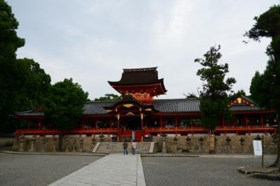 京の夏の旅後編 石清水八幡宮と伏見の酒蔵