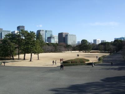 時間が空いたので東京を歩いてみよう ~皇居東御苑から皇居一周~