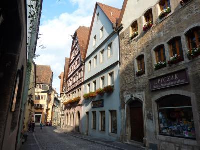 2009年夏【2】ドイツロマンチック街道と名峰アルプスパノラマハイキング・パリの旅(メルヘンな世界満喫!ロマンチック街道)