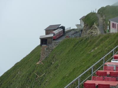 2009年夏【3】ドイツロマンチック街道と名峰アルプスパノラマハイキング・パリの旅(山の天気は意地悪!アルプスの山は霧の中?)