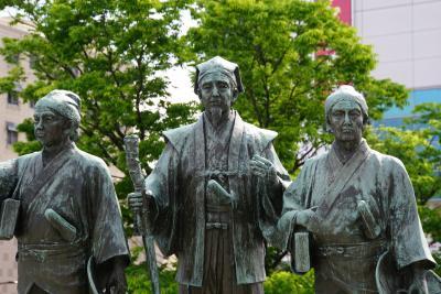 特急「ひたち」に乗ってみた 品川~水戸 弘道館・偕楽園・昼食は鰻。
