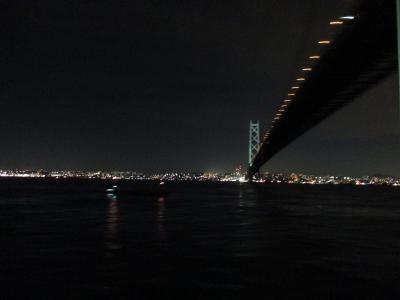 高松から フェリーに乗って神戸へ行こう