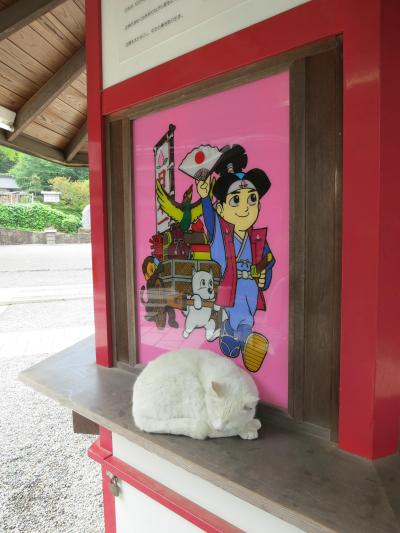 黒・・い・・城・・・(Okayama Castle =Crow Castle)② ホテル→吉備津神社→吉備津彦神社