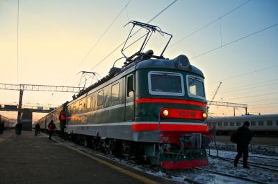 シベリア国際特急 北京発モスクワ行 3列車 5日目 ロシア オムスク/キーロフ