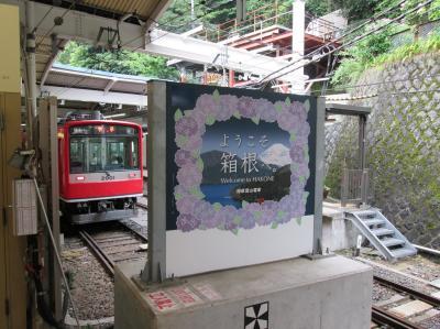 噴火警戒レベル2、箱根を行く。
