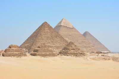 ヨルダン・エジプト一人旅【5】ギザのピラミッド