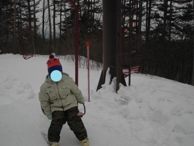 草津:ホテルヴィレッジ −冬:子供の初めてのスキー体験
