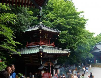 ツアーで行く 「草津温泉 志賀高原」−1 水沢観音さんから 草津温泉へ 湯もみ見物へ。