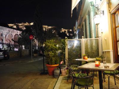 なぜかギリシャに45日間 7日目 アテネ最終日。今宵は遅くまでアテネ散策