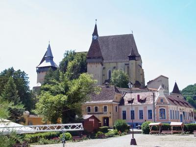 ルーマニア へ ~ビエルタンの世界遺産「トランシルバニア地方の要塞聖堂のある村落群」