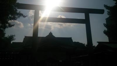 初めての、靖国神社