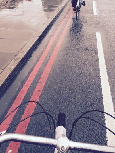 雨降りロンドン、自転車ツアー。~2015夏(2)
