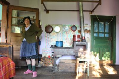 ROMANIA13 ポイエニ村6 バス逃し もう一泊 村の誇りツイカ酒醸造小屋 Poienile Izei