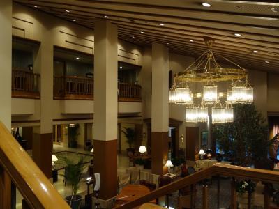 軽井沢のあこがれのホテル。車椅子になったらこれないネー。