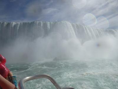 ナイアガラの滝と、バードキングダム&蝶観察館&マリンランドを満喫♪宿泊はシェラトンオンザフォールズ(・ω・)/♪
