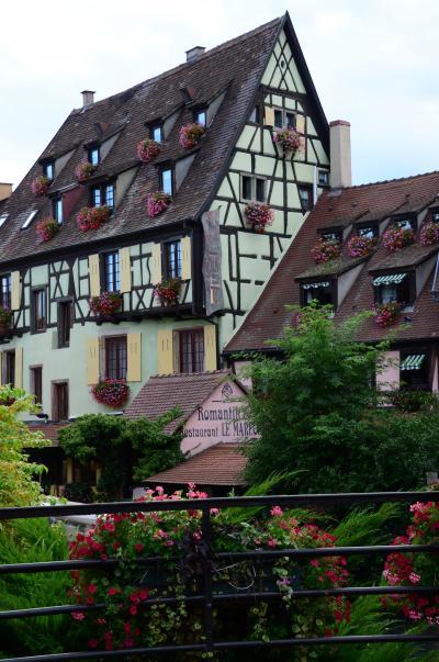 フランス、アルザス街道とワイン巡り