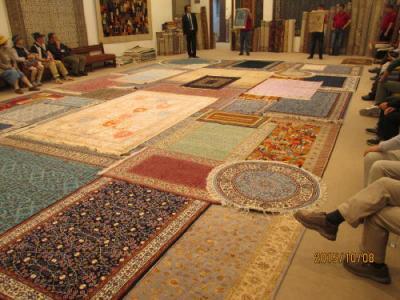 カッパドキアのトルコ絨毯