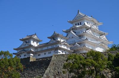 国宝&世界遺産の姫路城 : 建設往時の白色を取り戻した白鷺城