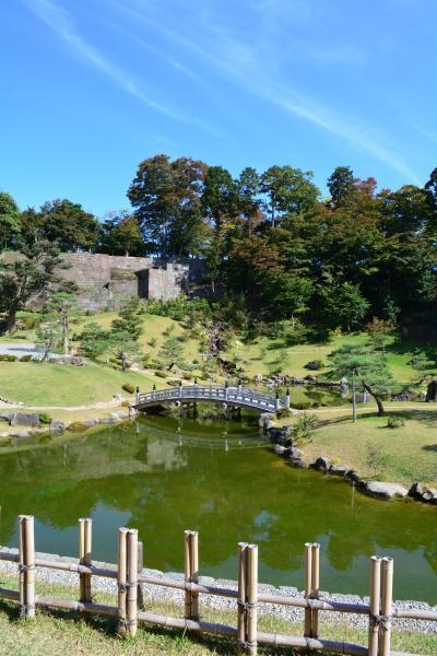 母と行く金沢能登旅行(その3:金沢城公園と兼六園、初めての北陸新幹線乗車)