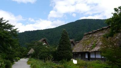201308飛騨信州旅行 初日【白川郷・高山】