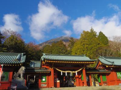初冬の日光  明智平~二荒山神社~華厳の滝、 日光田母沢御用邸