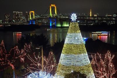 2015クリスマスイルミネーション in お台場