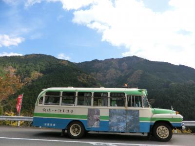 母と四国旅行その3 ボンネットバスで大歩危観光