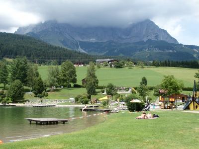 オーストリアのチロル&エーアヴァルト、ドイツのバイエルンの旅 【37】 ゴイング村を通り越して、バドゼーへ
