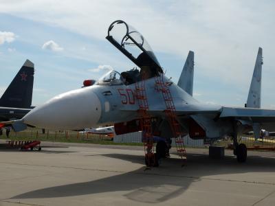 自力で行く!ロシアの航空ショーMAKS