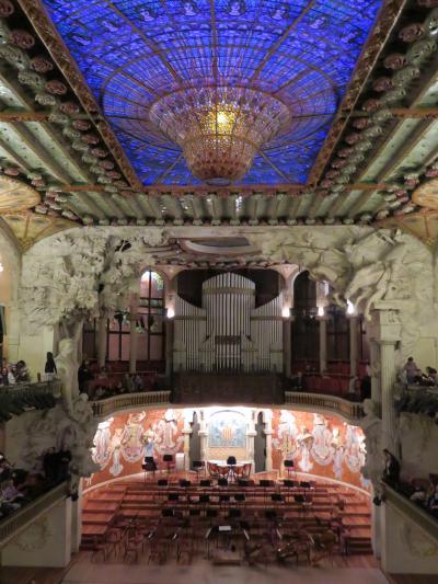 2015年大晦日のバルセロナ①おとぎの国サンパウロ病院&カタリューニャ音楽堂 ニューイヤーコンサート