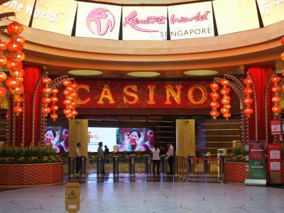 シンガポールのセントーサ島でカジノ